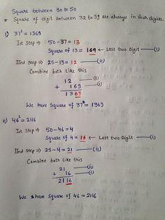 High Speed Vedic Mathematics is a super fast way of calculation whereby you can do supposedly complex calculations like 998 x 997 in less than five seconds flat. This makes it the World's Fastest Mental Math Method. Math Tutor, Teaching Math, Preschool Math, Teaching Tips, Love Math, Fun Math, Cool Math Tricks, Maths Tricks, Math Formula Chart
