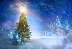 Winter Photography Backdrops Christmas Tree Background Cedar Blue Sky Background For Children Photo Studio Christmas Tree With Snow, Colorful Christmas Tree, Outdoor Christmas, Christmas Tree Wallpaper, Christmas Tree Background, Winter Background, Christmas Photography Backdrops, Christmas Backdrops, Blue Photography
