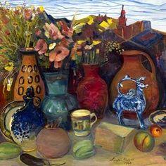 Martiros Saryan, The Gifts of Spring, 1968 #MartirosSaryan #TheGiftsOfSpring #garunam #garun