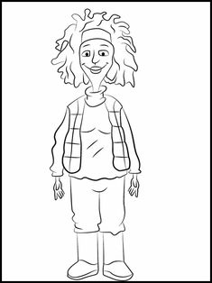 Horrid Henry 12 Printable coloring pages for kids