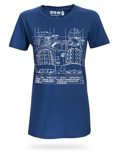 Just got this STYLIN' Dalek Blueprint Ladies' Tee off a rack yesterday evening at Outland comic book store in Bergen, Norway!