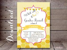 What will it bee themed baby shower Ideas, Decorations for Gender Reveal Party, Mommy to bee, Invitations, FREE Bee Themed Baby Shower Games, Printables, Favors