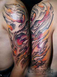 Andrey Vishnevskiy Tattoo