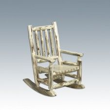 Montana Child's Log Rocking Chair