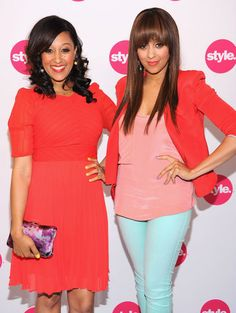Tia & Tamara Mowry. I adore them & love their show on tv. Such humble young ladies with a good head on their shoulders!