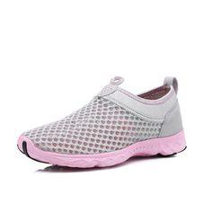 Women Slip On Breathable Mesh Non Slip Soft Light Outdoor Shoes - Banggood Mobile