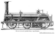 Crampton Steam Locomotive (1846—1864)