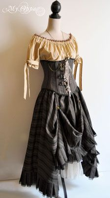 Les créations My Oppa - site My Oppa Steampunk, Creations, Photos, Victorian, Dresses, Fashion, Dress Ideas, Fashion Ideas, Clothes