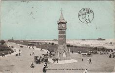 Skegness Clock Tower, c.1905   Vintage Postcards