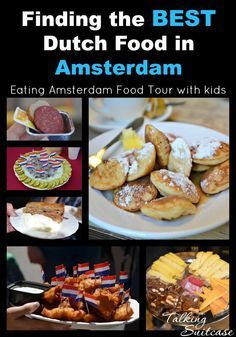 Make our own food tour :) Amsterdam With Kids, Amsterdam Food, Amsterdam Travel, Family Meals, Kids Meals, Netherlands Food, European Travel, Travel Europe, Dutch Recipes