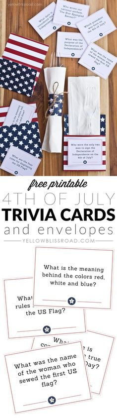 4th of july party quiz