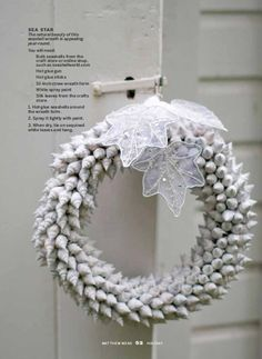 Great DIY wreath for Cape Cod