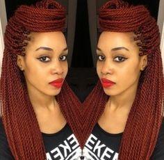 Sometimes, I miss braids Twist Hairstyles, Protective Hairstyles, Cute Hairstyles, Protective Styles, Beautiful Hairstyles, Love Hair, My Hair, Dreads, Natural Hair Styles