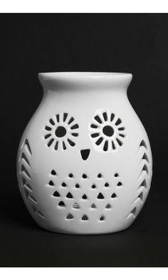 Owl Ceramic Oil Burner
