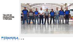 El mejor servicio en el taller de Hojalateria y Pintura en Saltillo se debe al esfuerzo de nuestro personal calificado
