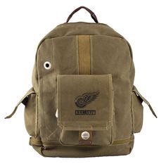 Detroit Red Wings NHL Prospect Deluxe Backpack