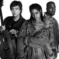 Trovato FourFiveSeconds di Rihanna & Kanye West & Paul McCartney con Shazam, ascolta: http://www.shazam.com/discover/track/228231468