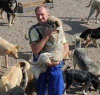 ...със своето сляпо куче 500 км заради бездомните животни - Първи Български Зоопортал