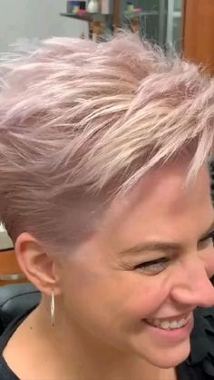 Pixie Hairstyles, Protective Hairstyles, Cute Hairstyles, Wedding Hairstyles, Pixie Haircuts, Stacked Haircuts, Best Pixie Cuts, Hairdo For Long Hair, Short Grey Hair