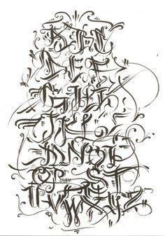 Calligraphy Grafitti