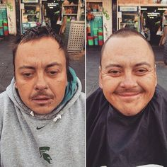Pin for Later: These Photos of Homeless People Getting Haircuts Will Make You Cry Janko