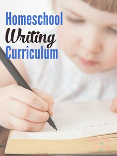 Are you starting to homeschool your child? Which homeschool writing curriculum will be the best choice for your family? Homeschool Curriculum Reviews, Writing Curriculum, Homeschool Kindergarten, Writing Lessons, Writing Skills, Grammar Lessons, Teaching Time, Teaching Writing, Teaching Resources