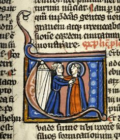 Francie - The Morgan Library & Museum Medieval Manuscript, Illuminated Manuscript, Morgan Library, 14th Century, Renaissance, Ms, Bible, Museum, Illustration