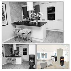Kjøkkenprosjekt – del 4 – Stue/kjøkken – Åpen løsning | Nr14 Interiørhjelp