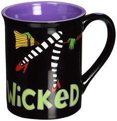 Mom Birthday Gifts Treasures By Brenda: Wicked Flying Monkeys Coffee Mug from the Wizard of Oz. Coffee Mug Display, Cute Coffee Mugs, Great Coffee, Coffee Shop, Coffee Cups, Coffee Lovers, Monkey Coffee, Glass Tea Cups, The Worst Witch