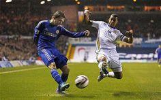 Marin in action! (Leeds United v Chelsea)