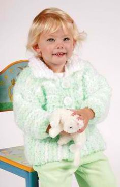 Baby Jacket: #knit #knitting #free #pattern #freepattern #freeknittingpattern #knittingpattern #babyjacket