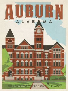 War Eagle! Samford Hall [Josh Carnley] RollTideWarEagle.com sports stories and free football tutorial that inform and entertain. Check it out. It's new. #AUBURN