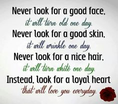 Never look for a.... instead....