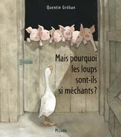 But why are they bad wolves? Baby Kind, Baby Love, Album Jeunesse, French Immersion, Three Little Pigs, French Class, Teaching French, Bookbinding, Childrens Books