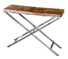 #ConsoleTables #TablesPerth - Recycled Teak Console - Segals Outdoor Furniture