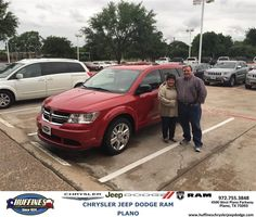 https://flic.kr/p/GCZDZn | Happy Anniversary to Antonio on your #Dodge #Journey from Cory Roper at Huffines Chrysler Jeep Dodge RAM Plano | deliverymaxx.com/DealerReviews.aspx?DealerCode=PMMM