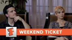 AMAZING!!! Josh and Jen are so funny!!!  The Hunger Games: Catching Fire | Weekend Ticket | Fa...