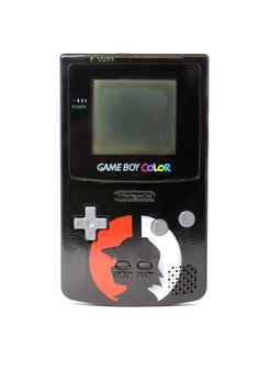 Custom Painted Frontlit POKEMON Gameboy Color - Features Ash Ketchum and Bulbasaur!