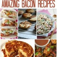 Submitted By: Wheel N Deal Mama Click on the link below for the 25 Amazing Bacon Recipes!  25 Amazing Bacon Recipes