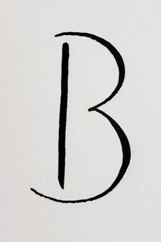Letter styles express the heart of a project. Choose a style that fits you. For more letter B inspiration, check out letter B and Blowfish. Letter B Tattoo, B Calligraphy, Hand Lettering Styles, Dainty Tattoos, Tumblers, Henna, Tatting, How To Find Out, Tattoo Ideas