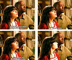 New Girl > Jess and Winston