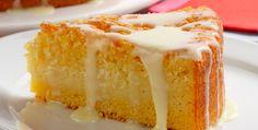 Receita de bolo de fubá e leite condensado/Foto: Ormuzd Alves