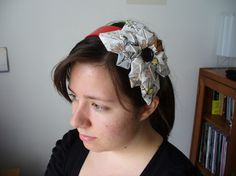 DIY Fabric Flowers for headbands, brooches and more!