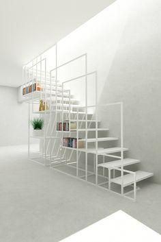 Square Staircase - Design + Weld