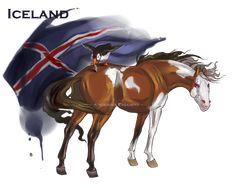 Horse Hetalia: Iceland by Moon-illusion on deviantART