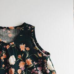 Kiomi Top pattern from Lotta Jansdotter's Everyday Style, in Nani Iro double gauze. #lottajansdotter #lottaeverydaystyle #naniiro
