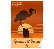 Rockport - Texas. Poster