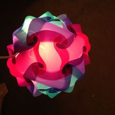 How to build a polygon lamp - diy