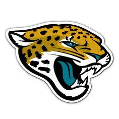 Jacksonville Jaguars Vinyl Mascot Magnet