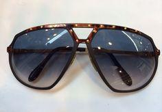 3c28d52419 Rare ALPINA M 1 8 Tortoise Effect Sunglasses W Gold Studs-W. Germany
